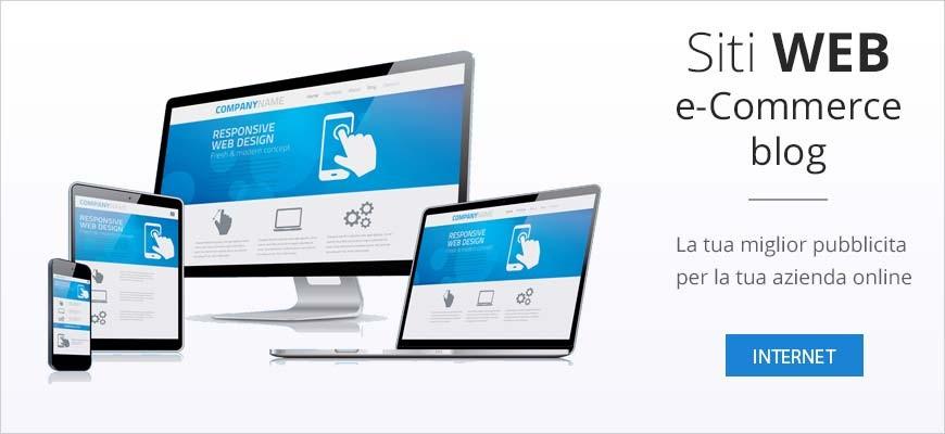 Creazione siti web, e-commerce e blog